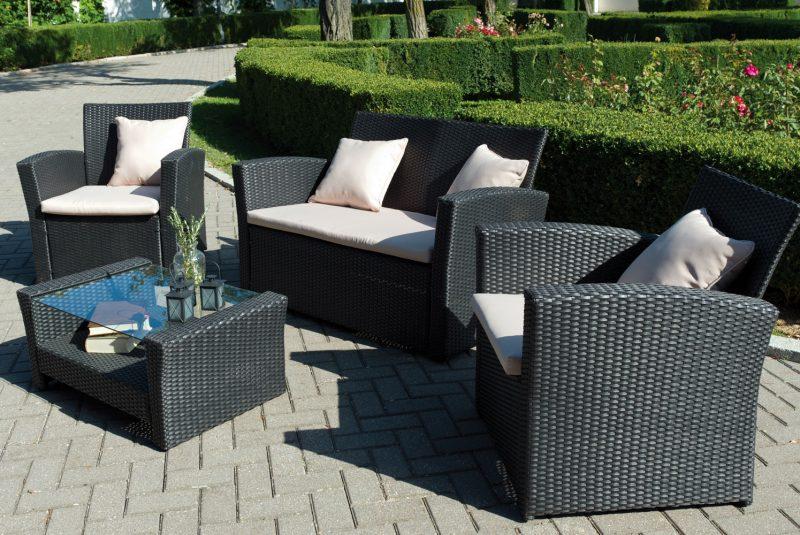 donde guardar muebles de jardin